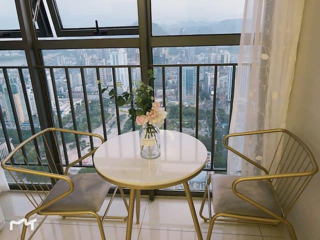 地王公馆绝美风景公寓人民广场步步高商场五星商圈
