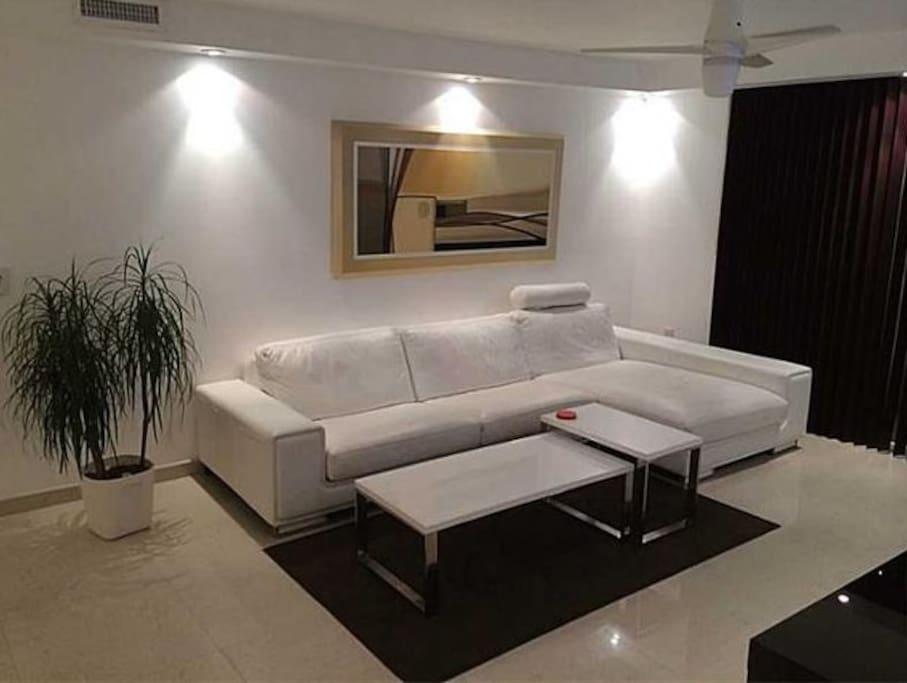 living, sofa