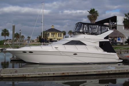 44 feet of Serenity in Clear Lake Shores, TX - Clear Lake Shores, between League City & Kemah - Bateau