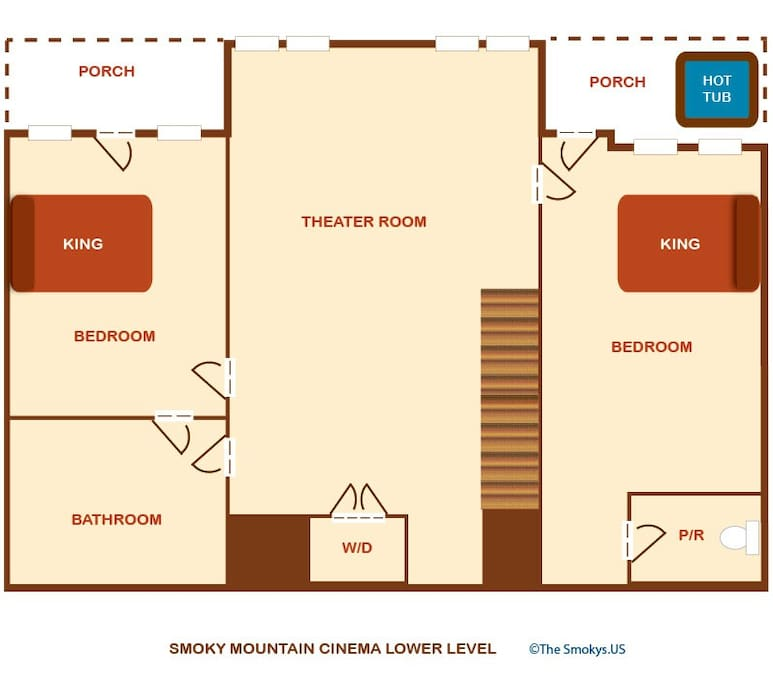 Smoky Mountain Cinema-Floor Plan