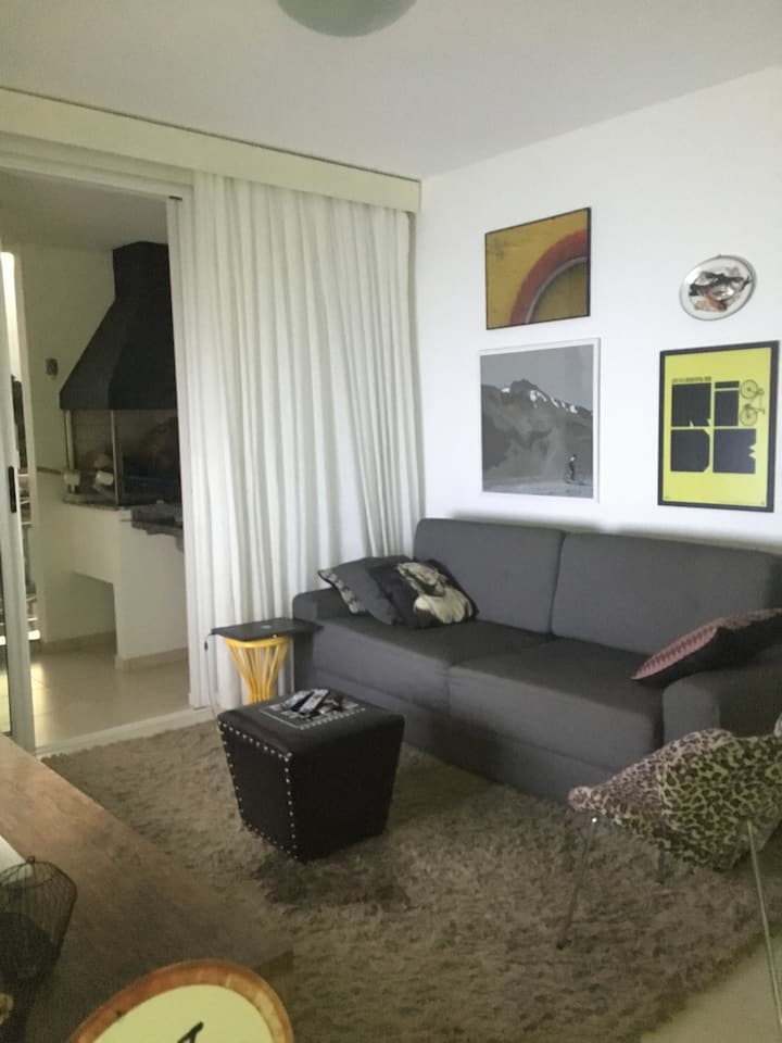 Apartamento confortável no coração de Joinville