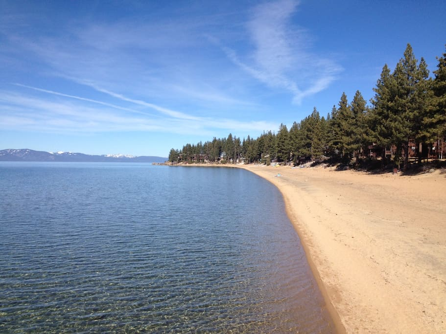Private beach for our community- one of the best beaches on the lake. 2-minute walk from condo.