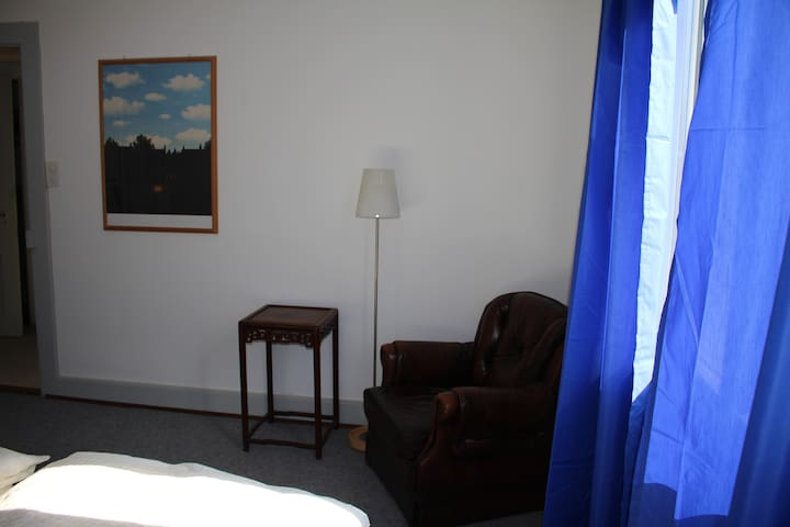 Nice room near the Exhibition site and river