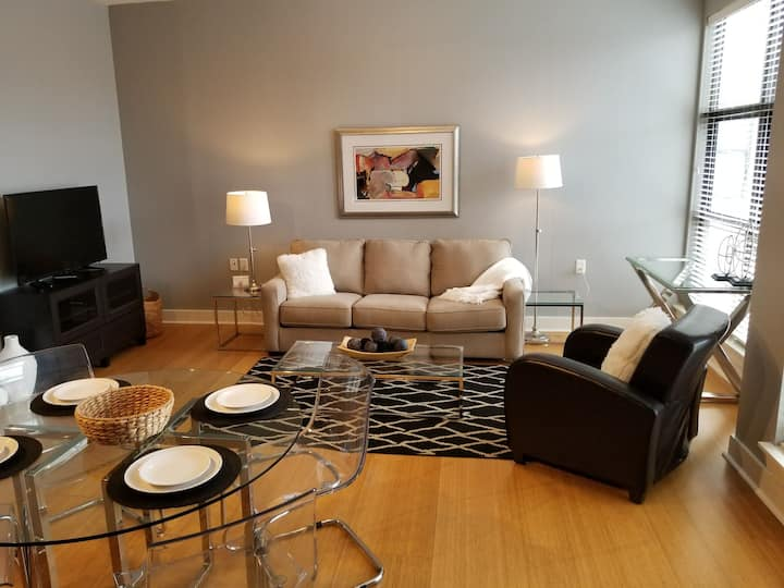 MODERN CONDO DOWNTOWN SLEEPS 4  #215