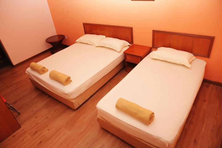 Boutique Guest House triple sharing - Malaca