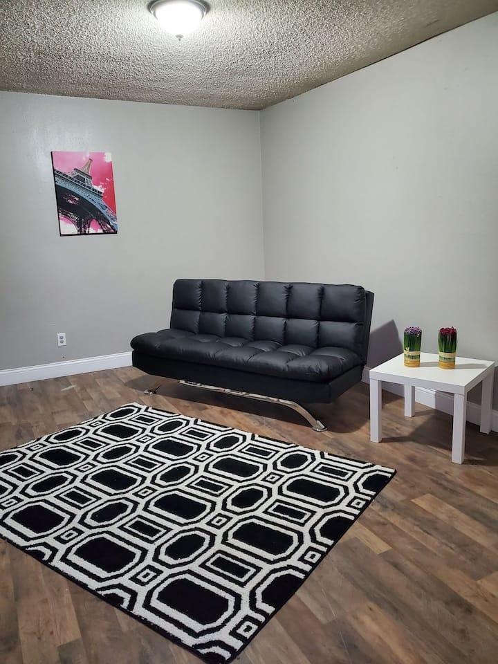 1 bedroom single apartment near Lamar