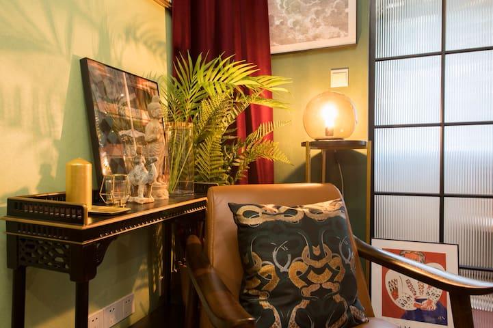 【租界】花园洋房、名人故居|森系幽静复古轻奢~上海图书馆、常熟路7号线10号线地铁附近