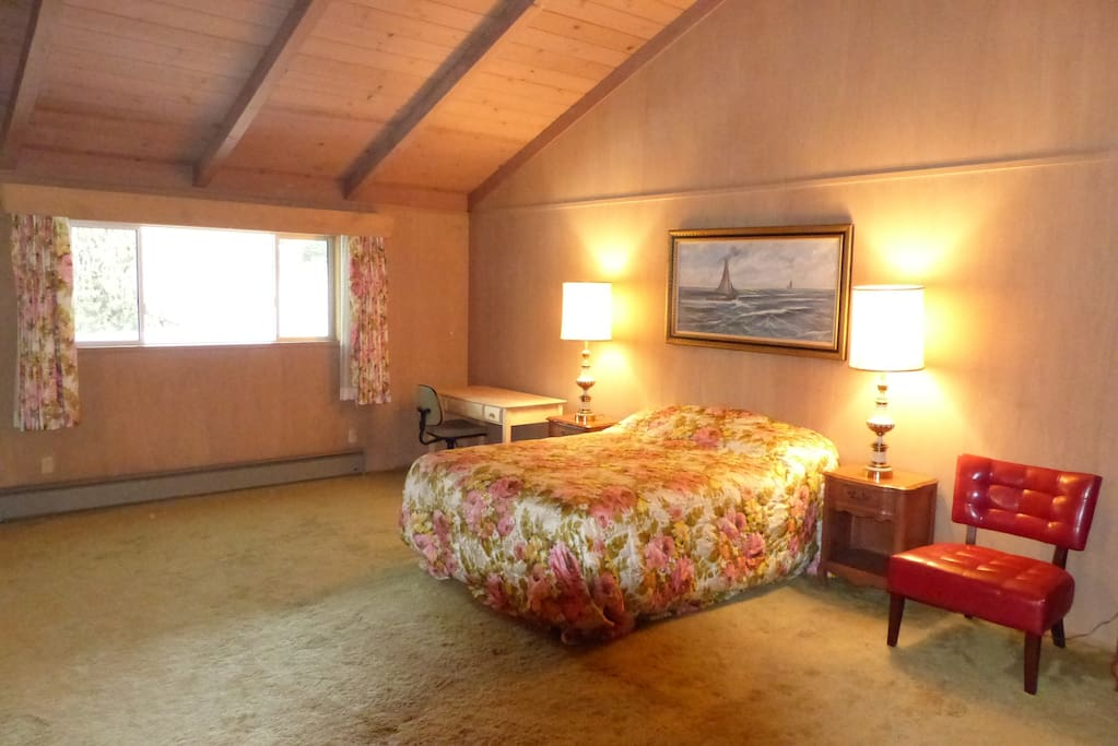 It is the Master Bedroom and it is huge. 24.4 feet by 19.4 feet.