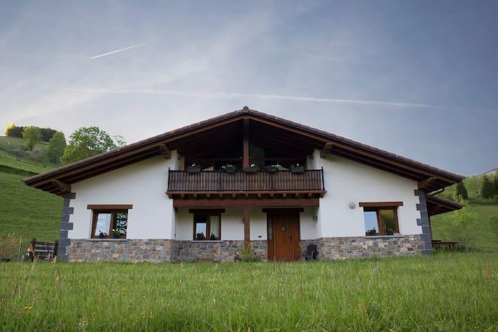Casa especial frente al Txindoki. - Abaltzisketa - Földház