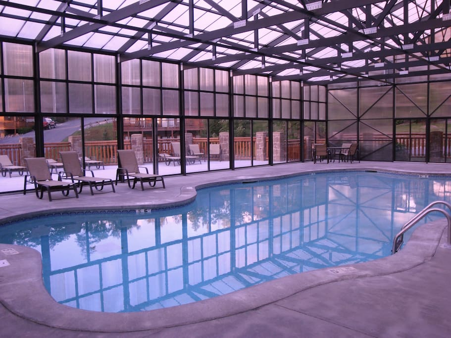 Year Round Covered Heated Pool, Sunning Deck