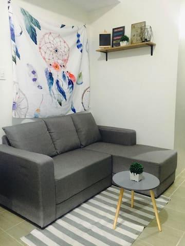 New Cozy and Quiet Studio Unit near Tiendesitas