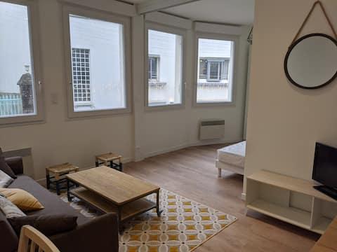 Appartement hyper centre historique. Très lumineux