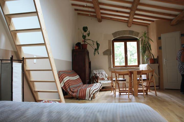 Gîte à la campagne - Saint-Bauzille-de-la-Sylve - Alojamento na natureza