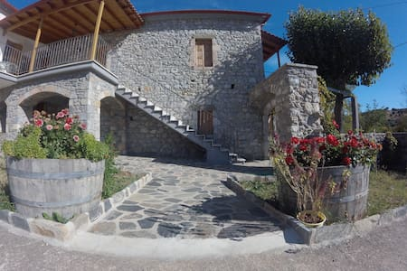 Τraditional Stonebuilt House, mount Parnon, Karyes