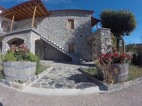 Τraditional Stonebuilt House, mount Parnon, Karyes