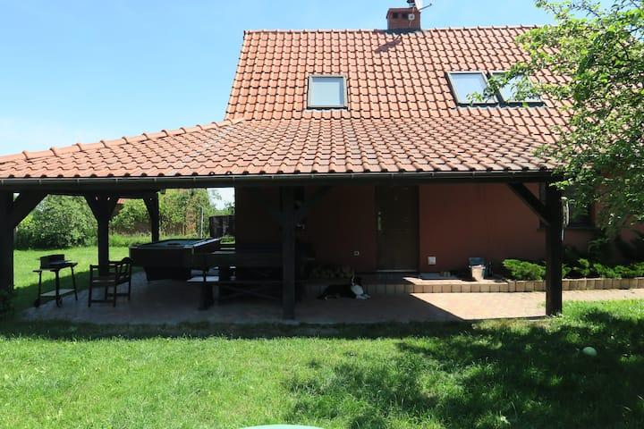 Leleszki - dom na Mazurach