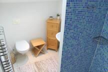 Bedroom en-suite wet room