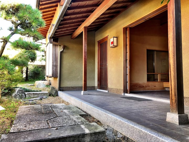 20mins from Namba!Free parking!Traditional house8