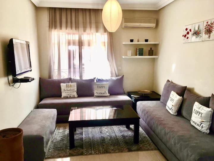 30%off on monthly stays ! Cosy Flat in Gueliz