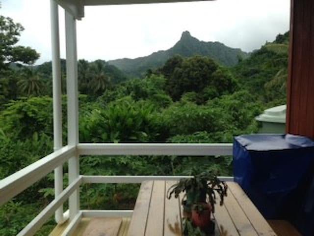 Mountain View Retreat - Avarua District - Bungalov