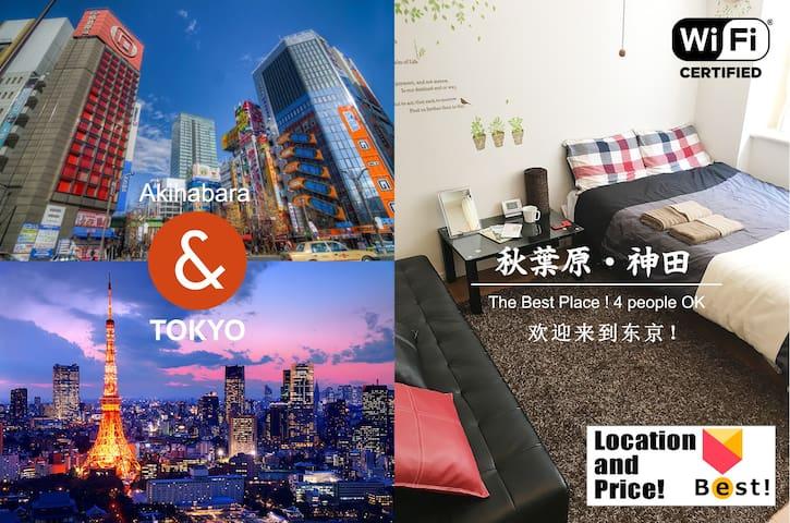 Tokyo-Akihabara Sta 8 min. Best Place!+pWi-Fi #HN6