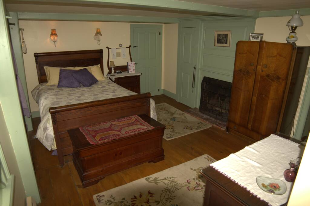 Estella May Campbell Bedroom w/ Fireplace