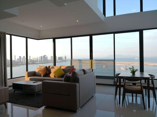 SH @ Sunrise Gurney Seaview Duplex 12 |日出海景豪华套房