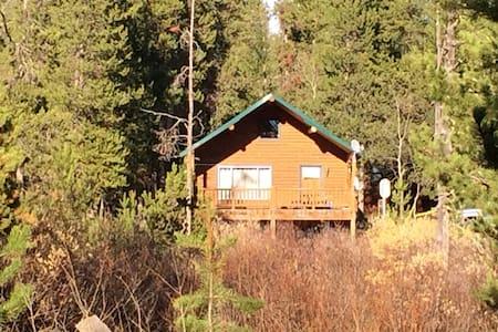 Secluded cabin near Yellowstone - Stuga