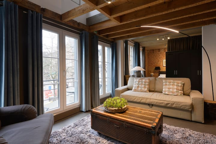 Grand Loft in the heart of historic Antwerp