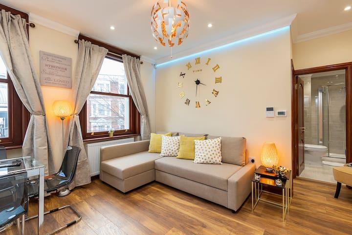 Charming 1 Bed Apartment Kensington Olympia