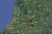 Centrally located in The Netherlands, in the middle of a vast area of national forest. A perfect base to explore The Netherlands whilst having a relaxed holiday feeling when you come home at night