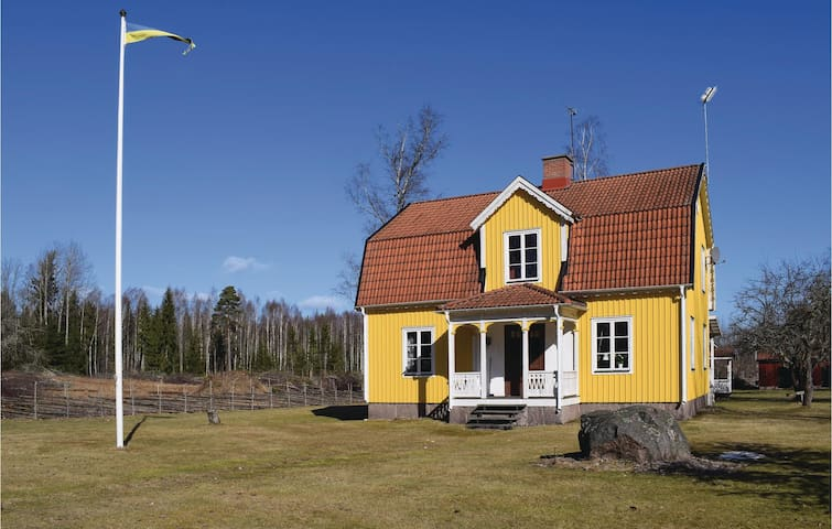 Holiday cottage with 4 bedrooms on 120m² in Högsby