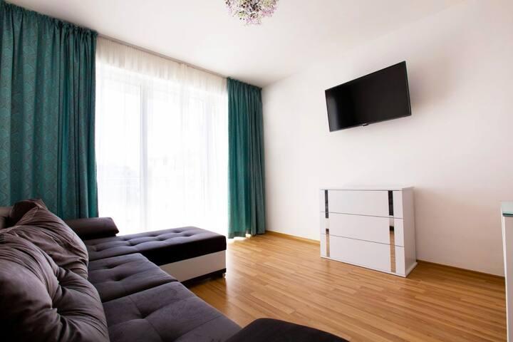 Стильные, просторные апартаменты в Болгарии
