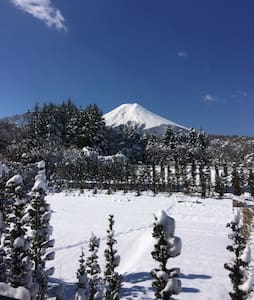 You can see Mt.Fuji in this room:)! - 富士吉田市