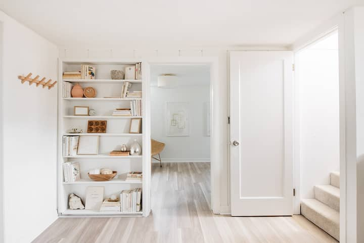 New - Modern Hygge Hideaway Basement Apartment
