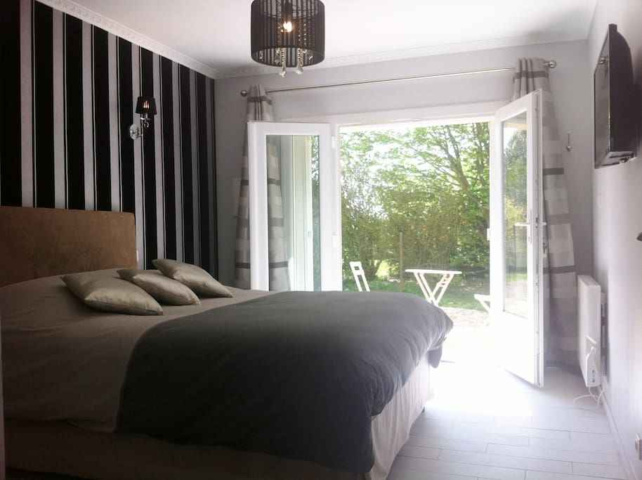 Chambre d 39 h tes 15 mn de rouen bed and breakfasts for - Chambre d hotes haute normandie ...