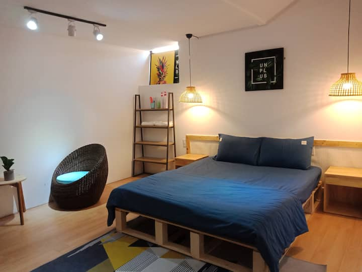 Comfortable Room*Minimalist Style*Near beach V1*