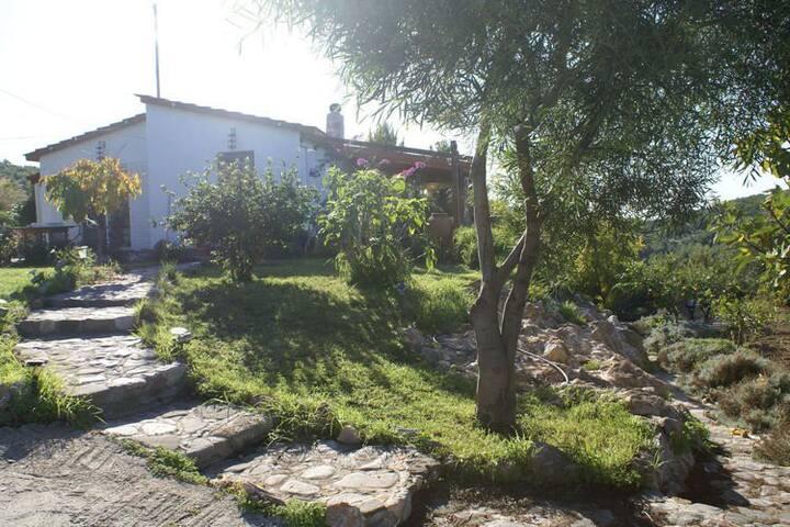 Charmantes Ferienhaus mit eigenem Garten in Kritinia Rhodos