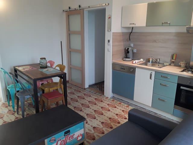 Appartement vintage,Elne 66200