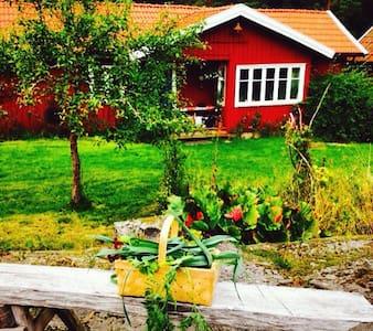 Charmig torpargård från 1800-talet. - Prässebo