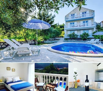 Bijela Villa ~ Apartment and POOL! - Slano - Διαμέρισμα