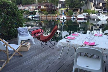 Vivez Port Ripaille - Maison les pieds dans l'eau - Thonon-les-Bains