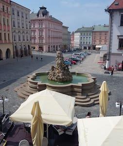 Ubytování v historickém centru Olomouce - Olmütz - Wohnung