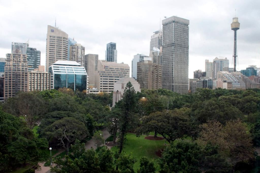 Hyde Park View located in Sydney centre
