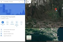 exact coordinates of the location