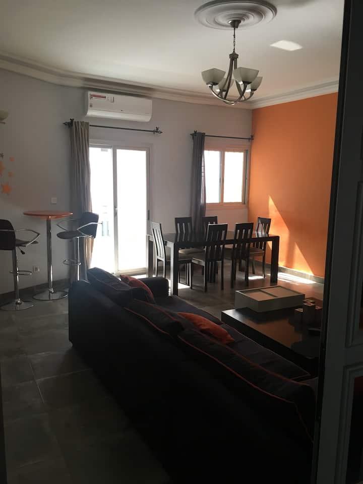 Appartement meublé 80m2 Liberté 6 extension