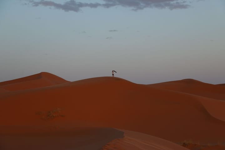 your night in merzouga