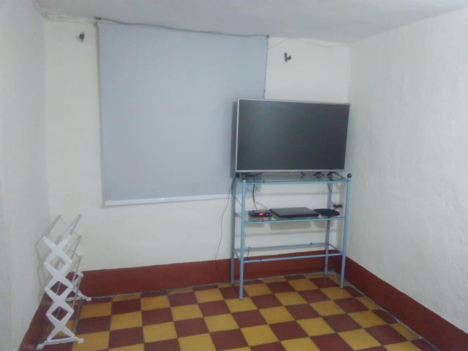 T.V. en habitación principal