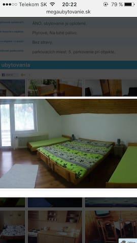 Apartmány Veronika - Habovka - House