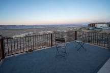 Enjoy spectacular sunrises & sunsets over the lake from one of two patio areas
